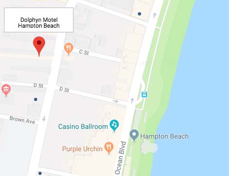 Hampton Beach NH Motel Location And Amenities